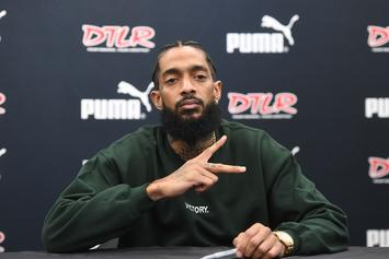 """Nipsey Hussle's Brother & The Crips Battle Over """"The Marathon Continues"""": Report"""