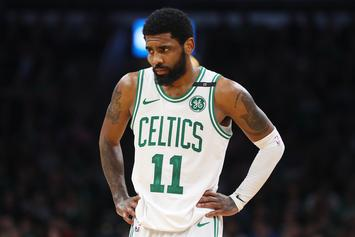 Kyrie Irving Shares Heartfelt Talk With Childhood Crossing Guard: Watch