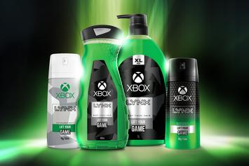 Microsoft & Axe Team Up For Xbox Body Wash & Deodorant