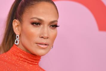 Jennifer Lopez Suffers A Wardrobe Malfunction As She Arrives To Her Kids' Graduation