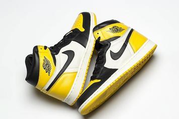 """Air Jordan 1 """"Yellow Toe"""" Rumored To Release This Month"""