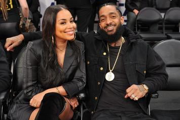 "Lauren London Promises To Make Nipsey Hussle ""Proud"" In Latest Tribute Post"
