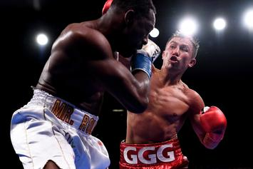 "Gennady ""GGG"" Golovkin Batters Steve Rolls In 4 Rounds: ""I'm Ready For Canelo"""