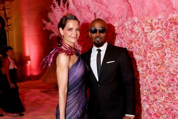 "Jamie Foxx & Katie Holmes Reportedly ""Stronger Than Ever"" In Long Distance Relationship"