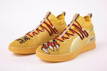 """PUMA Gifts Raptors Danny Green """"We The Champs"""" Clyde Court Sneakers"""