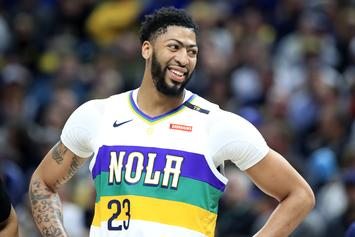 Anthony Davis Honored With A Lakers Mural In Los Angeles