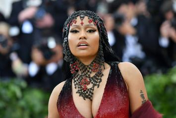"Nicki Minaj Teases ""Megatron"" Video With Sexy BTS Footage"