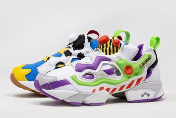 Toy Story 4 Reebok Instapump Fury Collab Revealed: Official Images