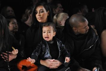 Kanye West & Kim Kardashian's Daughter North Wants To Become A Rapper