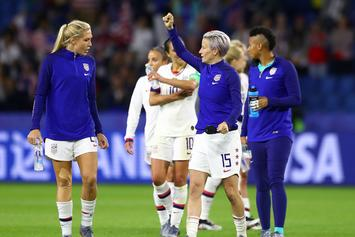"U.S. Women's Soccer Team Agrees To Hold ""Pay-Equity Mediation"" After World Cup"