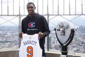 Knicks Honor RJ Barrett With Chilling Tribute At Madison Square Garden