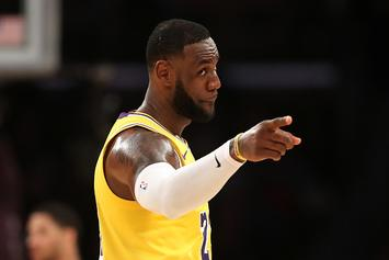 LeBron James' Space Jam 2 Practice Court Is Spectacular