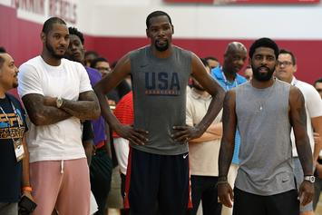 Kevin Durant & Kyrie Irving Have Met Twice To Discuss Future: Report