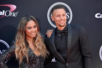 """Ayesha Curry Admits To Sending """"Hundreds"""" Of Sexy Pics To Steph Curry"""