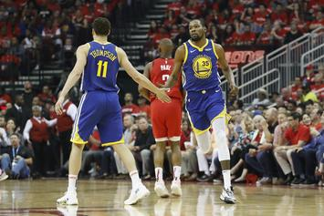 Warriors Have A $375 Million Plan To Keep KD & Klay Thompson: Report