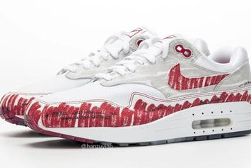 """Nike Air Max 1 """"Tinker Sketch"""" Turns The Classic Shoe Into A Drawing"""