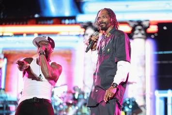"""Snoop Dogg Roasts 50 Cent Over """"Versace Print"""" Lambo: """"I Gon Take His Car, Call It Even"""""""