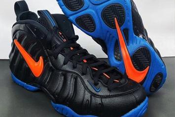 Knicks-Inspired Nike Air Foamposite Pro Drops Soon: Best Look Yet
