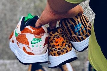 """Atmos Teases Nike Air Max 1 """"Animal Pack 3.0"""" Collaboration"""