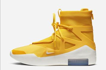 """Nike Air Fear of God 1 """"Amarillo"""" Dropping Soon: Official Images"""