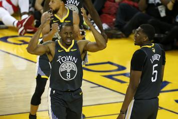 Andre Iguodala Reportedly Being Used As Trade Bait By The Grizzlies