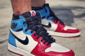 "Air Jordan 1 High OG ""Fearless"" Combines Two Colorways: Best Look Yet"