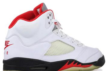 """Air Jordan 5 """"Fire Red"""" Dropping In 2020 For 30th Anniversary: Report"""