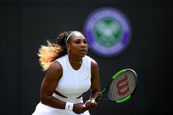 Serena Williams Fined $10K For Damaging Wimbledon Court