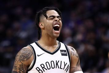 "D'Angelo Russell Reacts To Warriors Trade: ""Excited"" To Get Started"