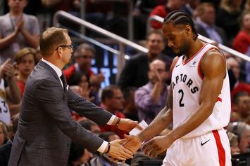 Raptors' Nick Nurse Explains Moment He Heard Kawhi Leonard Left Toronto