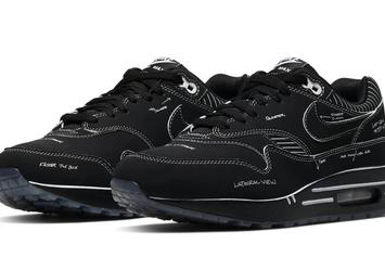 "Nike Air Max 1 ""Black Schematic"" Coming Soon: Official Images"