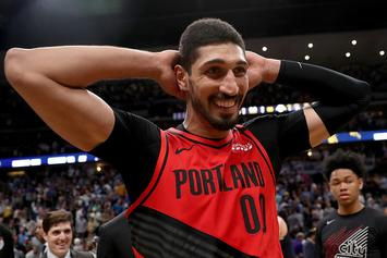"Enes Kanter Shows Off His Ridiculous ""Cheat Day"" Meal: Video"