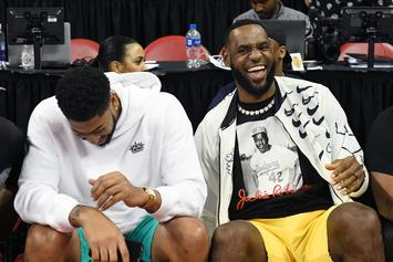 "LeBron James Jokingly Teases New ""Kung Fu"" Look Ahead Of Next Season"