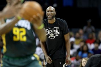 "Lamar Odom & Three Other Players ""Deactivated"" By Big3 League"