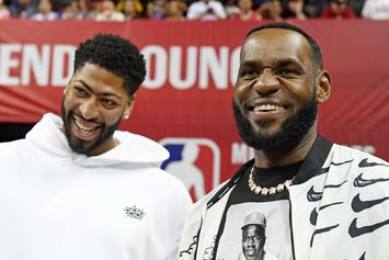"""LeBron James' Jersey Swap Blocked By Nike, Anthony Davis Accepts """"Number 3"""""""