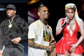 50 Cent, Chris Brown Added To Saudi Arabia Festival After Nicki Minaj Pulls Out