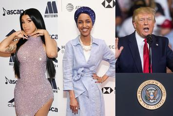 Cardi B Shows Support For Rep. Ilhan Omar Following Trump's Racist Attack