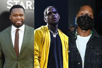 50 Cent, Chris Brown & Future Sell Out Controversial Saudi Arabia Show