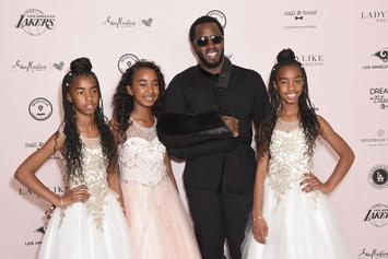 Diddy & His Family Head To Disneyland For Daughter's 13th Birthday