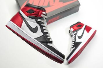 "Air Jordan 1 Satin ""Black Toe"" Set To Drop In August: Release Date"