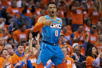 Russell Westbrook Shows Off His Rockets Uniform For The First Time