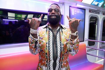 "Rick Ross Teases New ""Big Tyme"" Music Video Starring Jordyn Woods & Swizz Beatz"