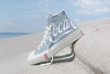 KITH x Coca-Cola x Converse Denim Colorway Releasing In August