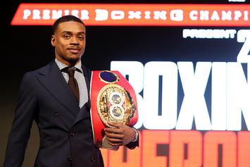 "Boxing Champ Errol Spence Jr. Cops $400,000 ""Man Down"" Chain"