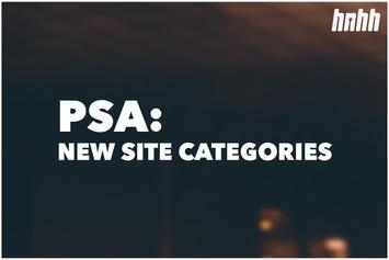 HNHH PSA: The Categories Have Been Revamped