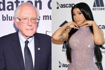 Cardi B Stars In 2020 Presidential Campaign Video With Senator Bernie Sanders