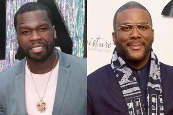 50 Cent Hilariously Reacts To Tyler Perry's Personalized, Electronic Invitation
