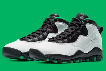 """Air Jordan 10 """"Seattle"""" Returning For First Time Since '95: Release Date"""