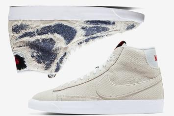 "Stranger Things x Nike Blazer Mid ""Upside Down"" Release Date Revealed"