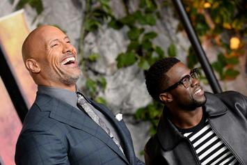 """Kevin Hart Roasts The Rock's Workout Photo: """"It Looks Like You're Wearing A Thong"""""""